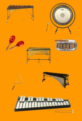 La familia de la Percusión